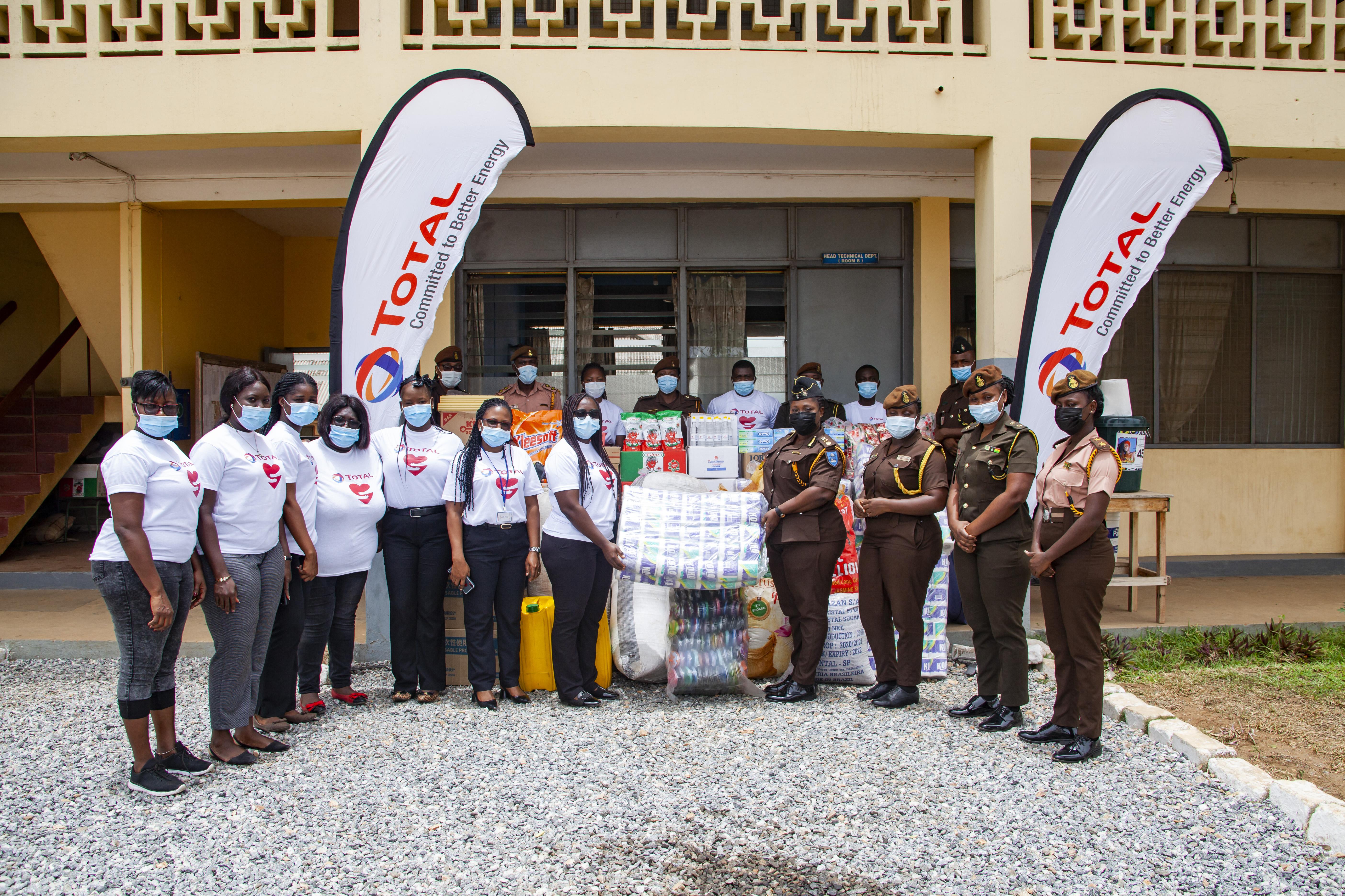 TOTAL GHANA DONATES  3